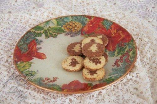 Karácsonyi sütis tál