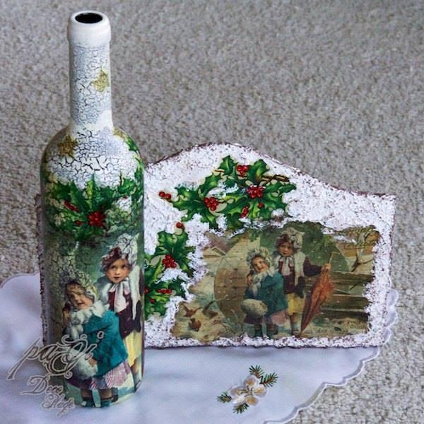 DIY - Karácsonyi nosztalgikus üveg - MiniMaLista 12