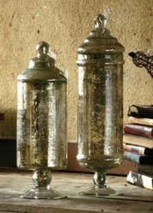 Antiqued Mercury Mirror Glass