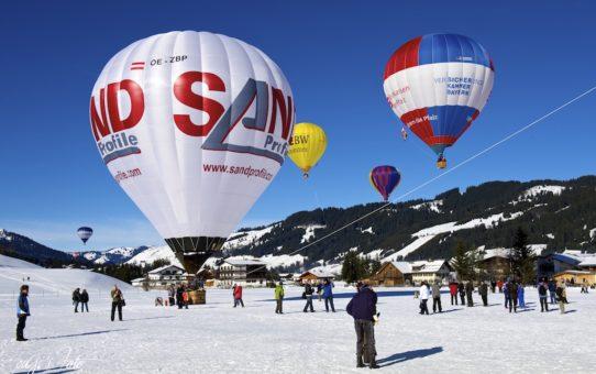 Hőlégballon fesztivál Tannheimer Talban