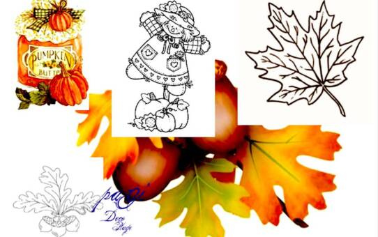 Transzfer képek őszi- és halloween témában