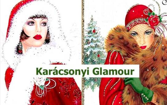 Karácsonyi Glamour  képek