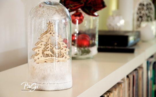 Karácsonyi üvegharang - MiniMalista 38