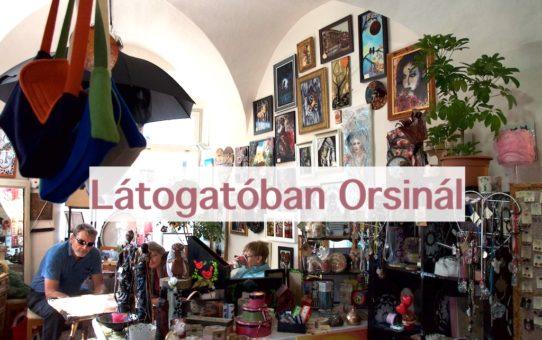 Látogatóban Orsinál -  Hobbykünstler Shop 2017