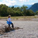 Uszadékfa gyüjtése a Lechnél