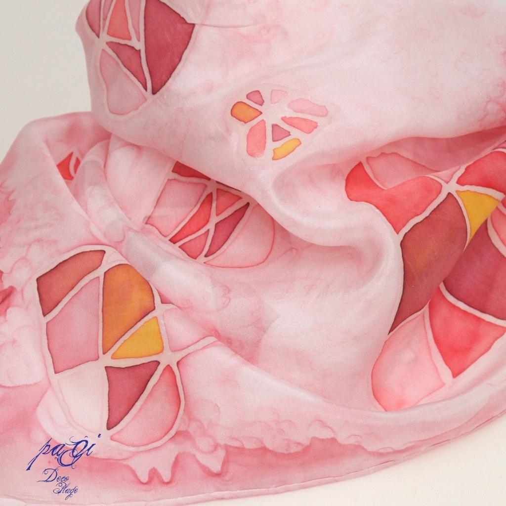 Anyák napi selyemkendő - DIY