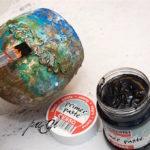 Merlin kelyhe patina és rozsda effekttel DIY